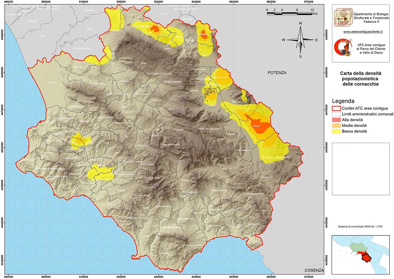Cilento Cartina Geografica.La Cartografia Atc Salerno 2